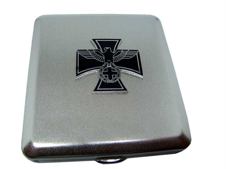 Zigarettenetui - Eisernes Kreuz mit Adler