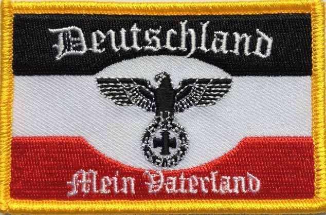Aufnäher Deutschland - Mein Vaterland