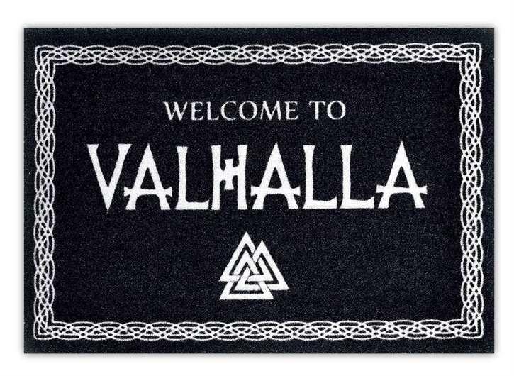Fußmatte Welcome to Valhalla