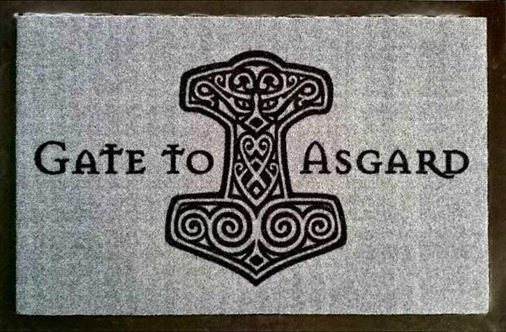 Fußmatte Gate to Asgard