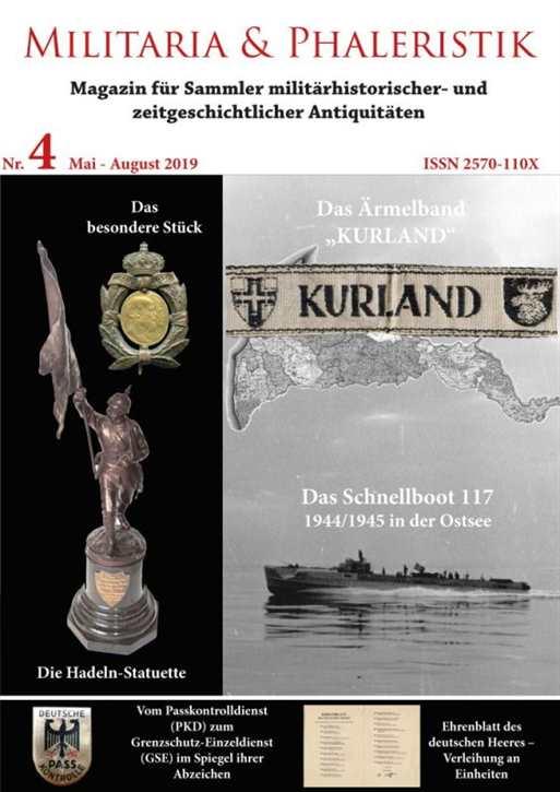 Militaria & Phaleristik - Ausgabe 4 (2019)
