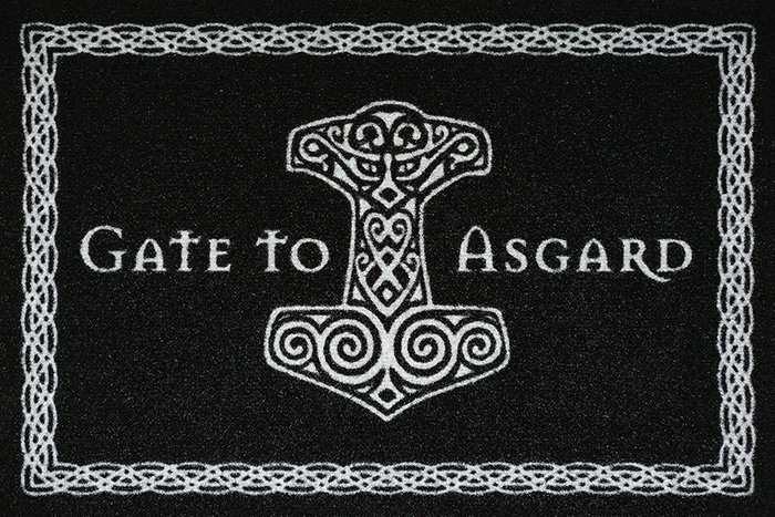 Fußmatte Gate to Asgard II