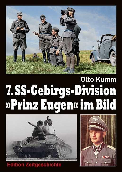 """Kumm, Otto: 7. SS-Gebirgs-Division """"Prinz Eugen"""""""