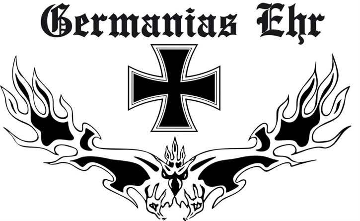 Fahne Germanias Ehr
