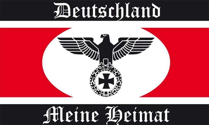 Fahne Deutschland meine Heimat II