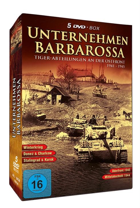 Unternehmen Barbarossa, 5 DVD-Box