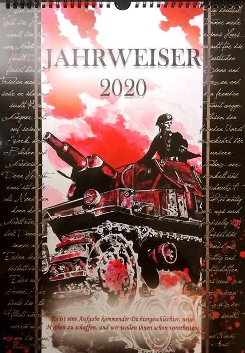 Kunst-Kalender Jahrweiser 2020