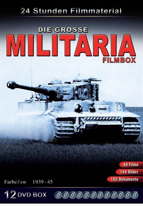 Die große Militaria-Filmbox, 12 DVDs
