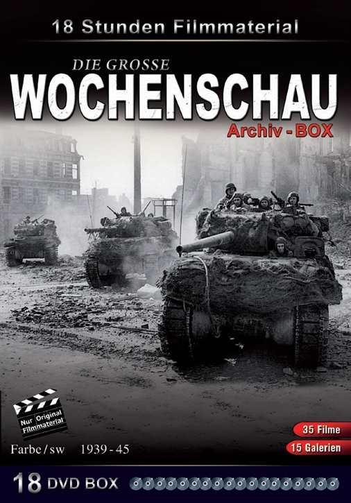 Die große Wochenschau-Archivbox, 18 DVDs