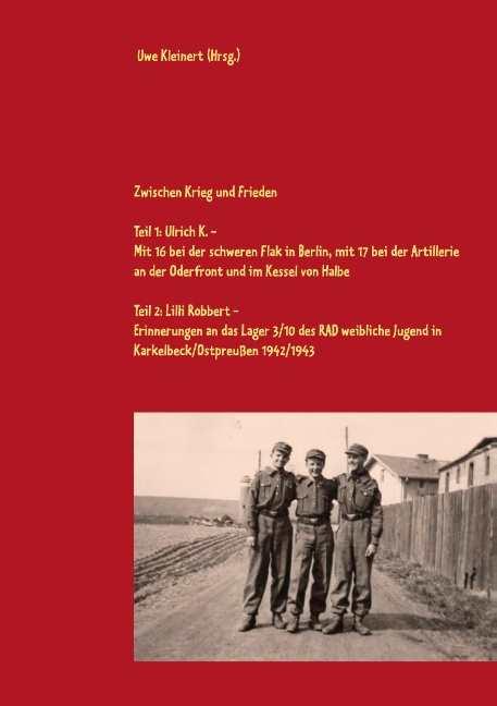 Kleinert, Uwe (Hrsg.): Zwischen Krieg und Frieden