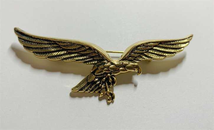 Anstecknadel Luftwaffe Brustadler, gold