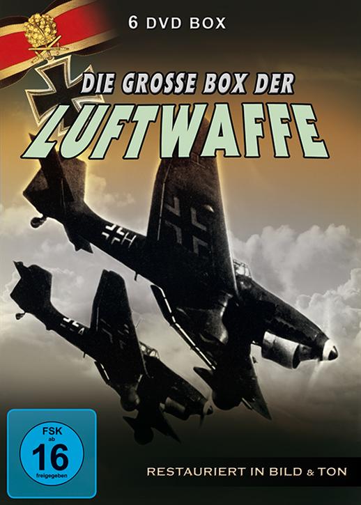 Die grosse Box der Luftwaffe, 6 DVD-Box