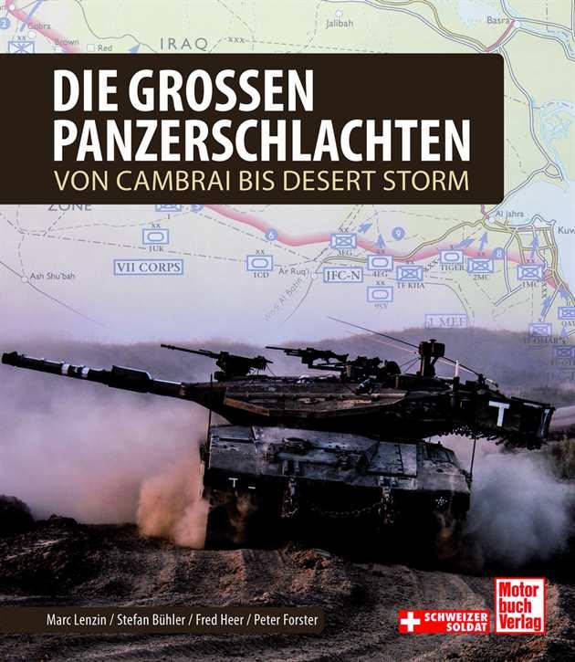 Lenzin, Marc: Die großen Panzerschlachten