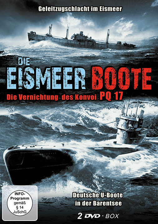 Die Eismeer Boote, 2 DVD-Box