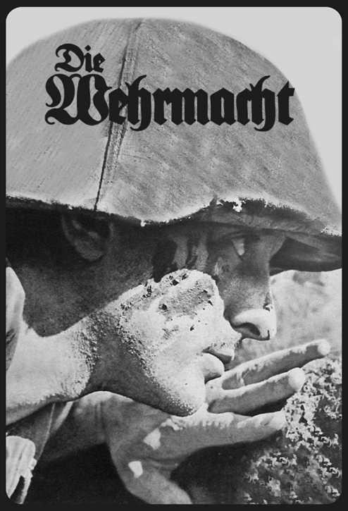 Werbeschild Die Wehrmacht (Landser)