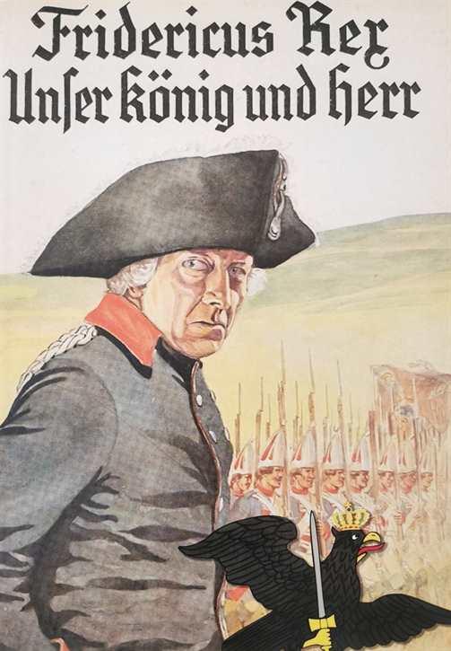 Kunstdruck Friedrich der Große - Unser König