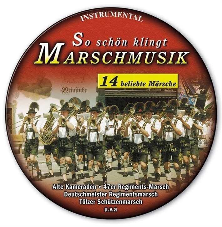 So schön klingt Marschmusik (CD in Metalldose)