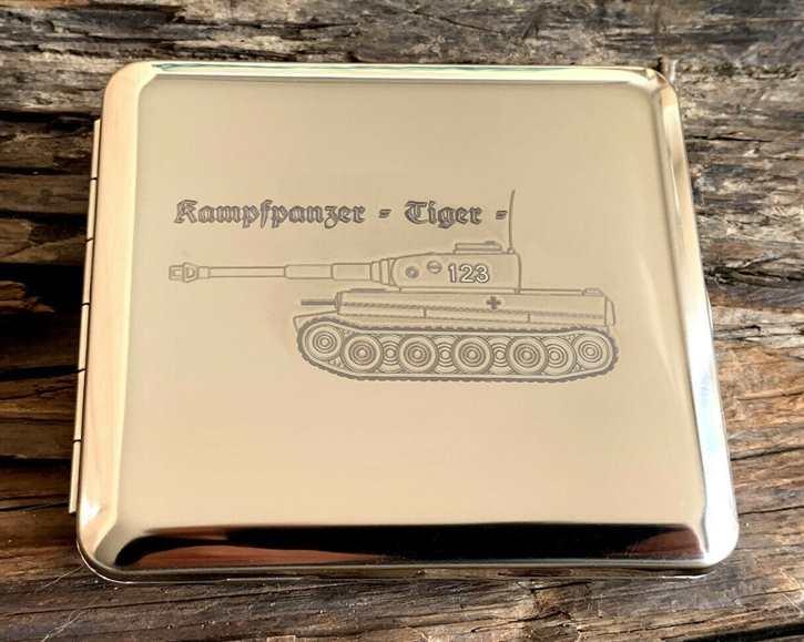 Zigarettenetui - Kampfpanzer Tiger