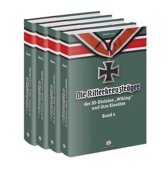 """Die Ritterkreuzträger d. Division """"Wiking"""" 4 Bände"""