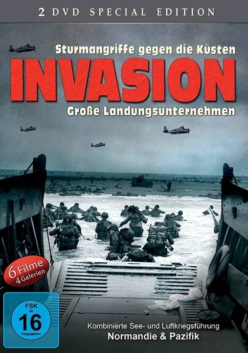 Invasion - Große Landungsunternehmen - 2 DVD-Box