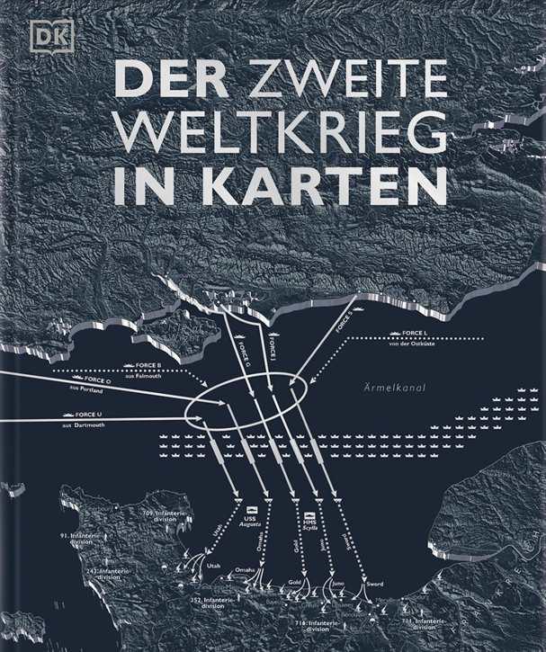 Adams, Simon u.a.: Der Zweite Weltkrieg in Karten