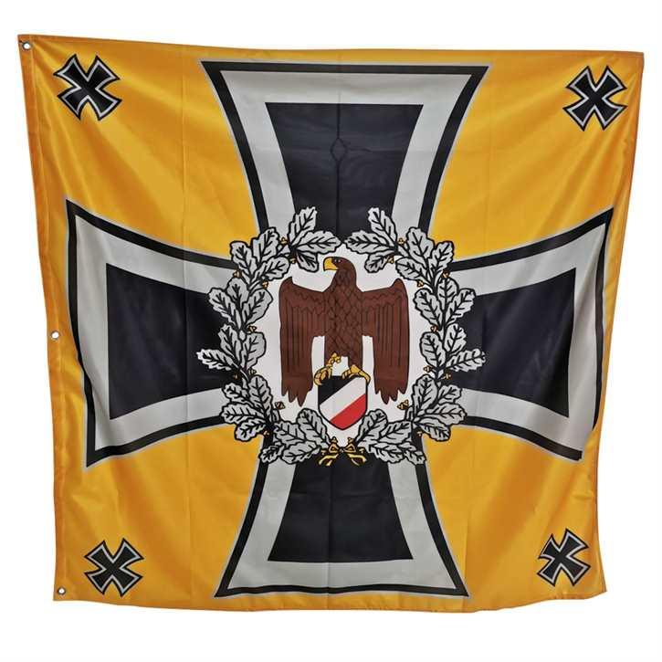 Standarte WH Regimentsfahne - goldgelb