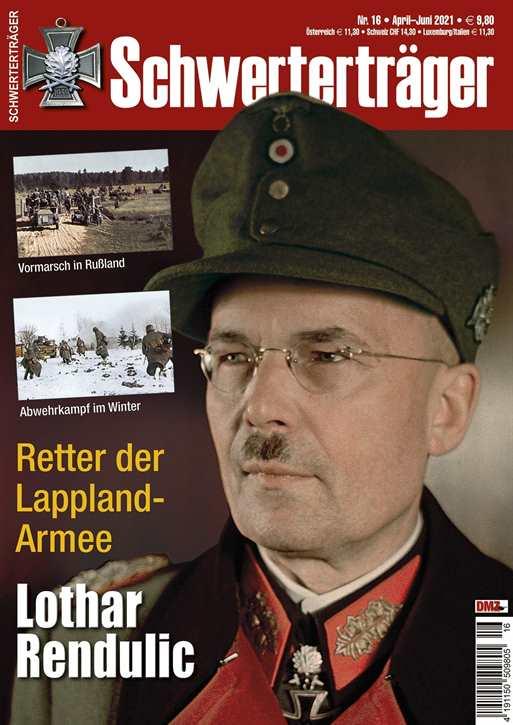 Schwerterträger Nr. 16/2021 - Dr. Lothar Rendulic