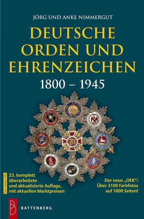 Nimmergut: Deutsche Orden und Ehrenzeichen