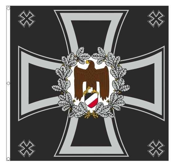 Standarte WH Regimentsfahne - schwarz