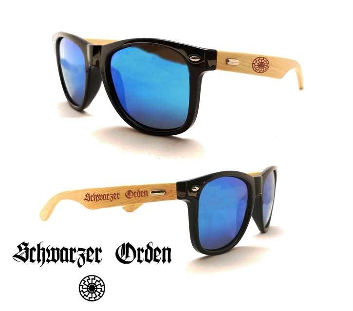 Sonnenbrille Schwarzer Orden
