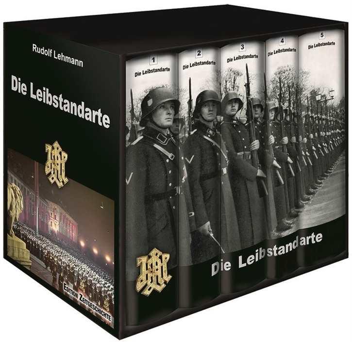 Lehmann, Rudolf: Die Leibstandarte 5 Bände