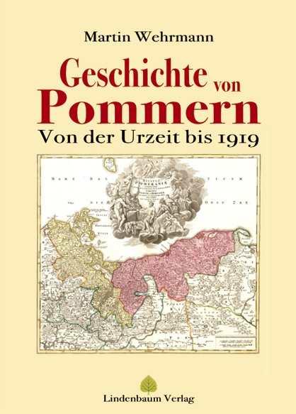 Wehrmann, Martin: Geschichte von Pommern