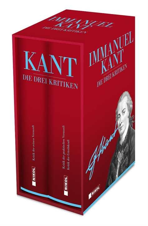 Kant, Immanuel: Die drei Kritiken