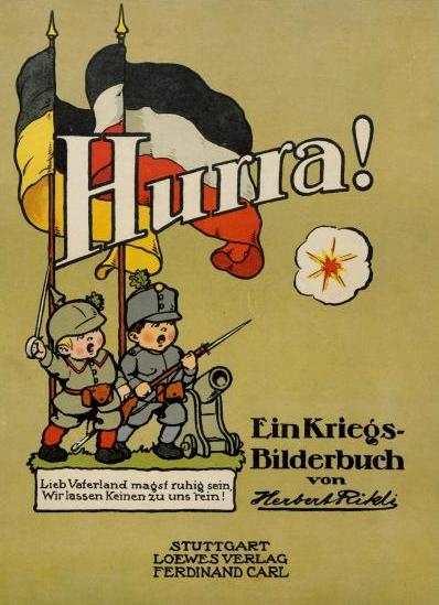 Rikli, Herbert: Hurra! – Ein Kriegs-Bilderbuch