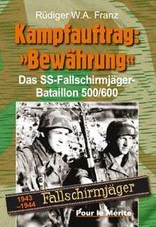 """Franz, Rüdiger W.A.: Kampfauftrag: """"Bewährung"""""""