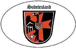 Aufkleber Sudetenland