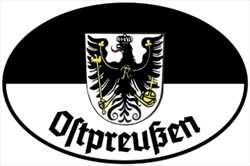 Aufkleber Ostpreußen
