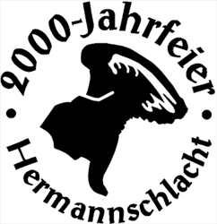 Holzstempel 2000 Jahre Hermannschlacht