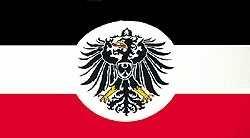 Flagge Deutsches Reich Auswärtiges Amt, groß