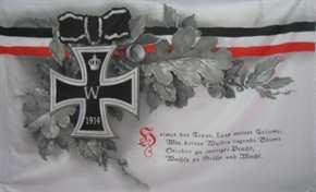 Fahne Heimat der Treue...