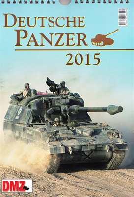 Kalender - Deutsche Panzer 2015