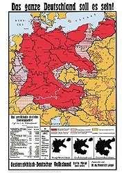 Bildwandkarte Das ganze Deutschland soll es sein!
