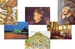 Postkartensatz - Deutsche Geschichte