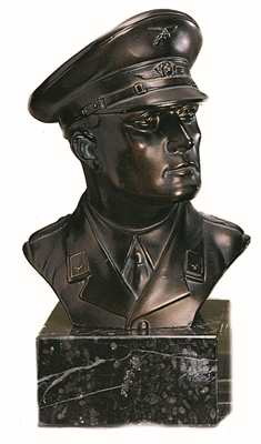 Bronzereplik Luftwaffen Offizier