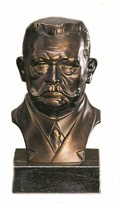Bronzereplik Paul von Hindenburg