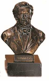 Bronzereplik Richard Wagner