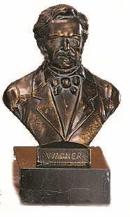 Bronzereplik Richard Wagner