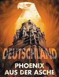 Kunstdruck Deutschland - Phoenix aus der Asche