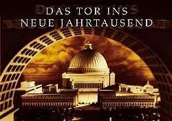 Kunstdruck Germania - Das Tor ins neue Jahrtausend