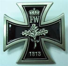 Anstecker Eisernes Kreuz Deutschland 1813